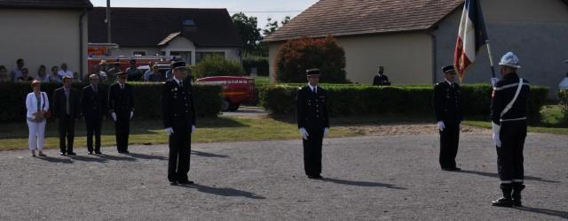 Date: 12 / 06 / 2014 | 18:00 Commune: Ainay le château Lieu: Centre de Secours   Le Capitaine Daniel BOISSERY, chef du centre de secours d'AINAY LE […]