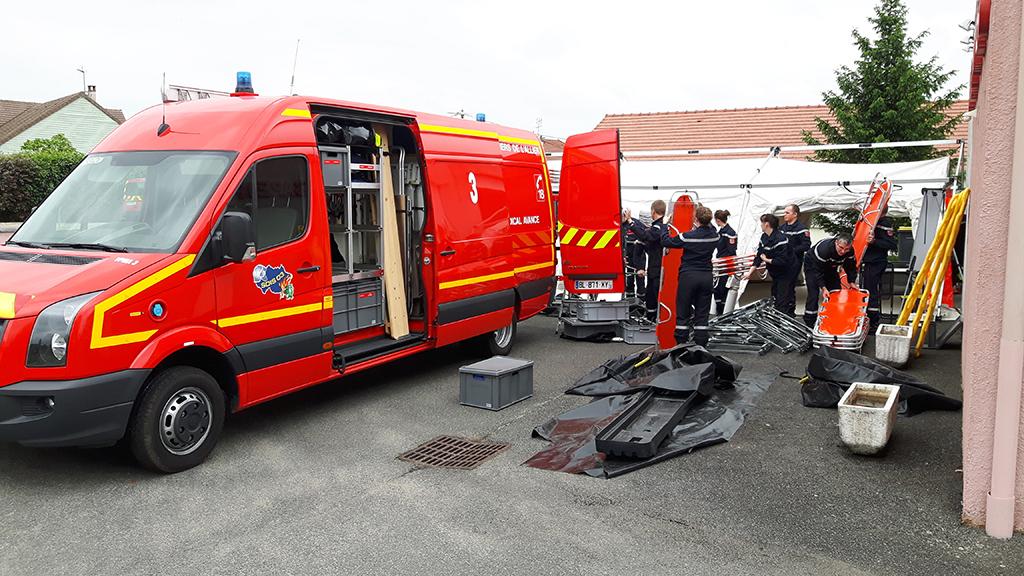 Villeneuve sur Allier : Les personnels du SSSM formés à la mise en œuvre du PMA