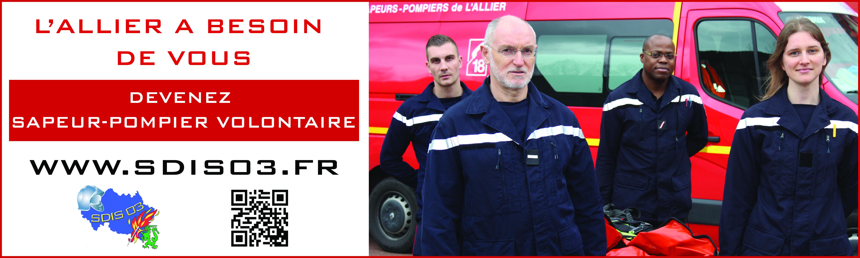 L'Allier a besoin de vous : devenez sapeur-pompier volontaire