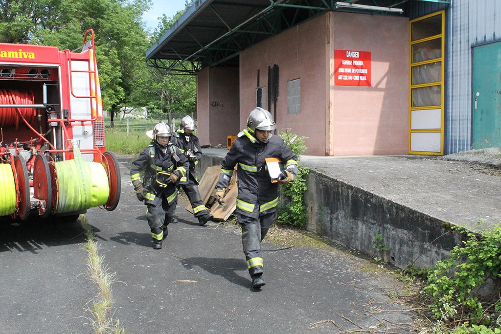 Montluçon : Formation chef d'agrès deux équipes