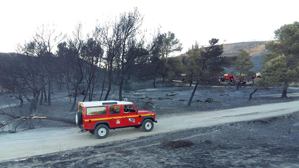 Les sapeurs-pompiers de l'Allier en renfort dans l'Aude