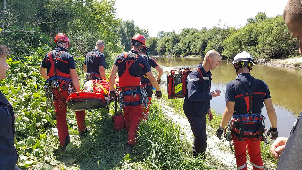 CHARMEIL : Crash d'un aéronef