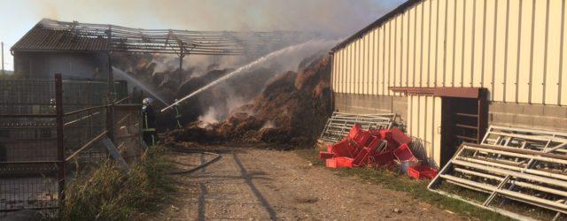Date : 06/10/2016 – 12:52 Lieu :CHAMBERAT – LD La Pierre Blanche Type de Sinistre :Feu de bâtiment agricole    Les sapeurs-pompiers sont intervenus le jeudi 6 octobre […]