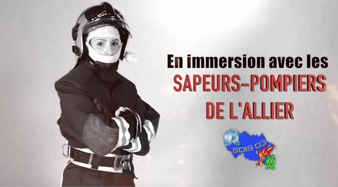 """REPORTAGE : \""""En immersion avec les sapeurs-pompiers de l\'Allier\"""""""