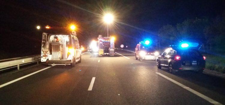 MONTMARAULT – A71 : collision entre 2 véhicules