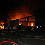 incendie hangar BRAIZE - 14-04-2017