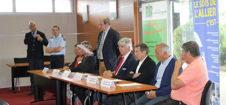 Signature d'une convention en faveur du volontariat chez les agriculteurs
