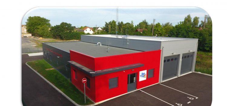 Inauguration du centre de secours de Diou