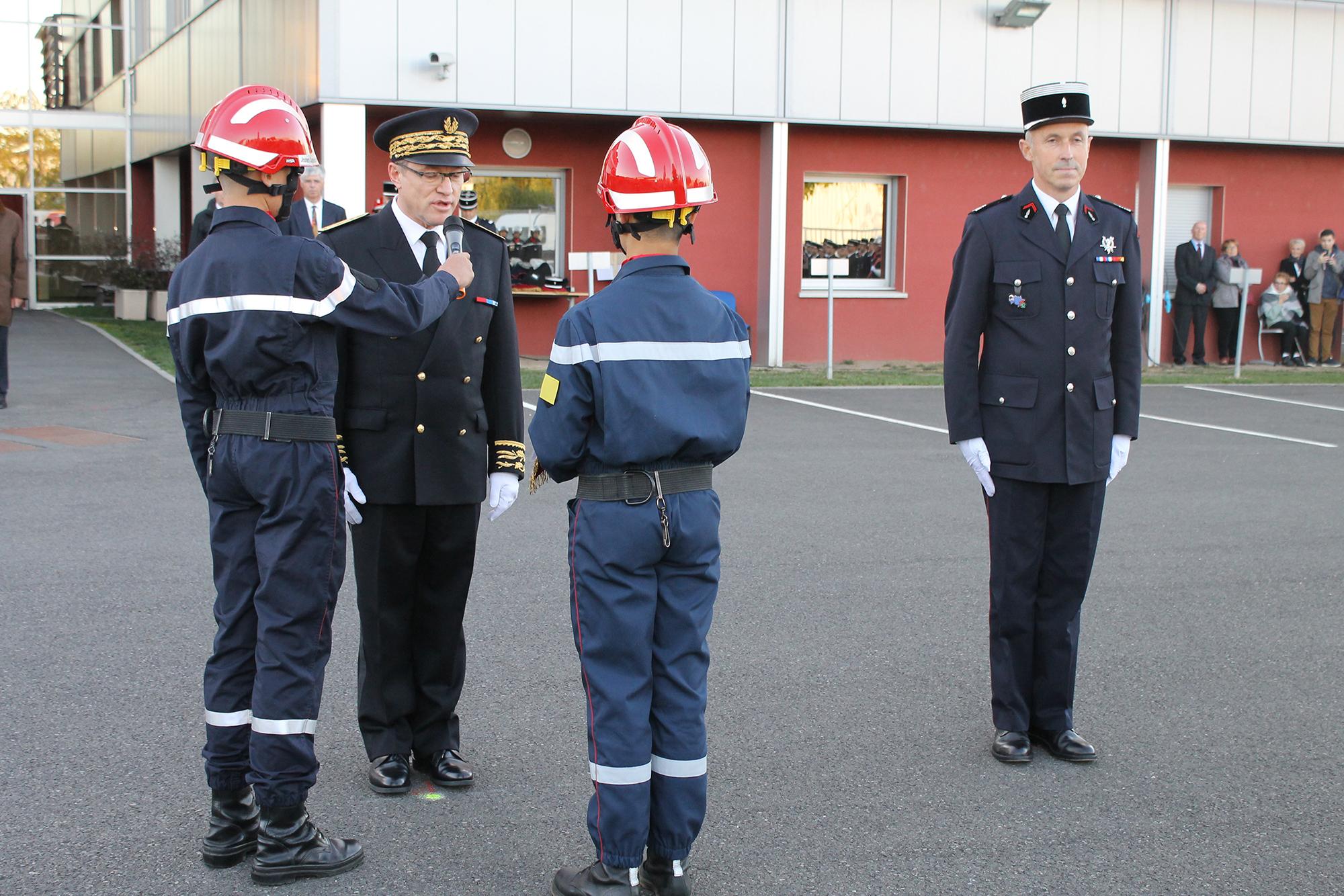 cérémonie de prise de commandement du Colonel Patrick VAILLI