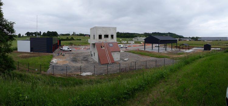 Construction du centre de formation d'incendie et de secours de l'Allier