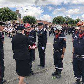 Congrès départemental des sapeurs-pompiers 2018 à Bourbon l'Archambault