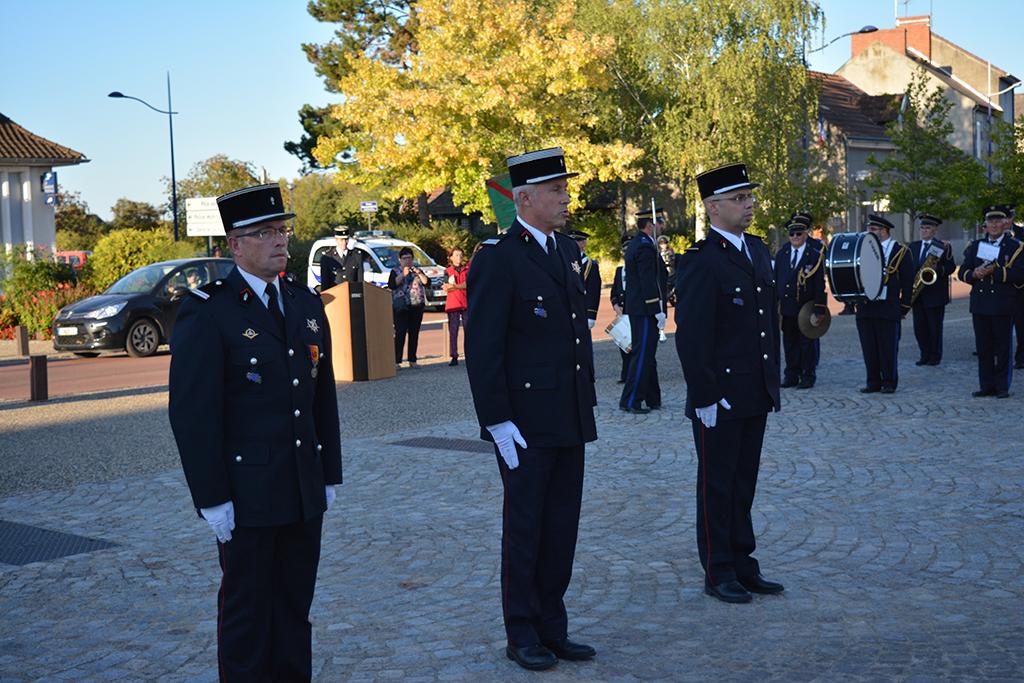 Passation de commandement au CS Bellerive sur Allier