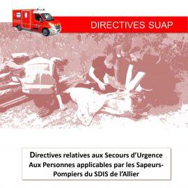 Directives départementales SUAP
